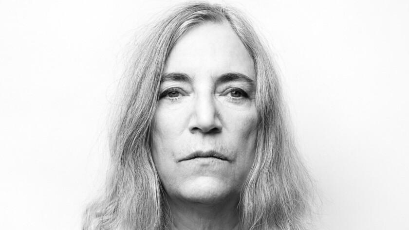 """NEW YORK, NY - NOVEMBER 22, 2014: Rocker Patti Smith's song """"Mercy Is"""" created for the film, Noah, i"""