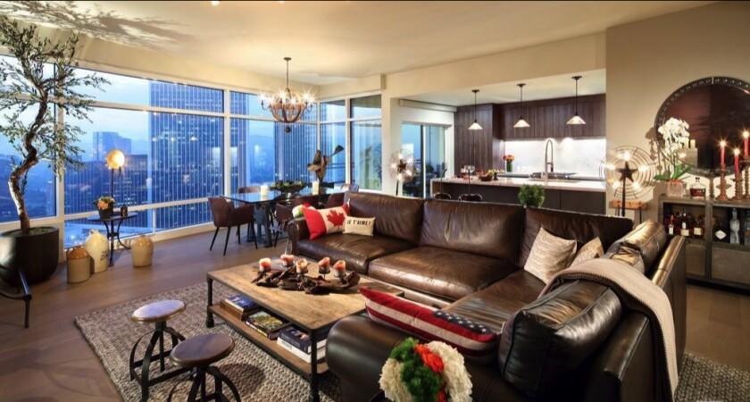 Richard Landry's Century City condo
