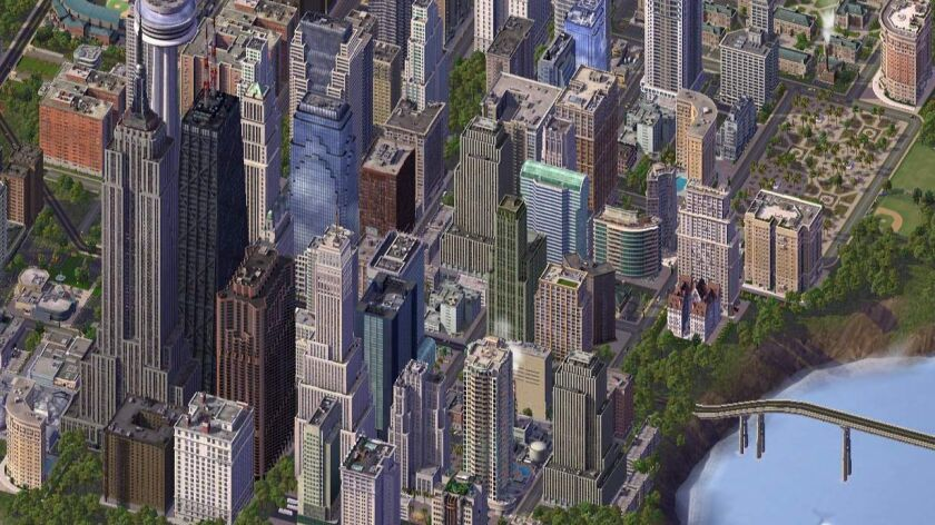 "A scene from ""SimCity 4 Deluxe."""