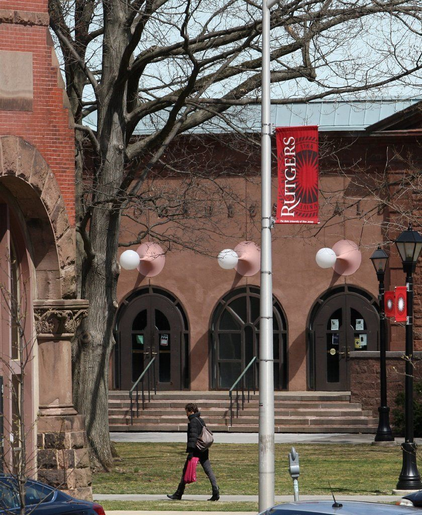 The Main Campus of Rutgers University in New Brunswick, New Jersey.