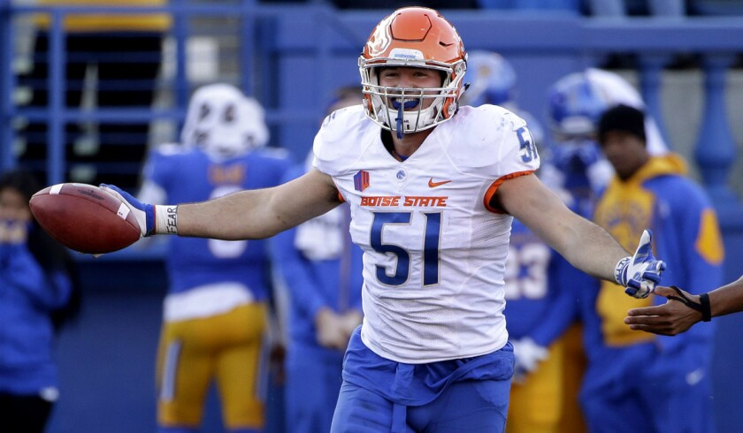 Boise State and Northern Illinois meet Wednesday in the Poinsettia Bowl
