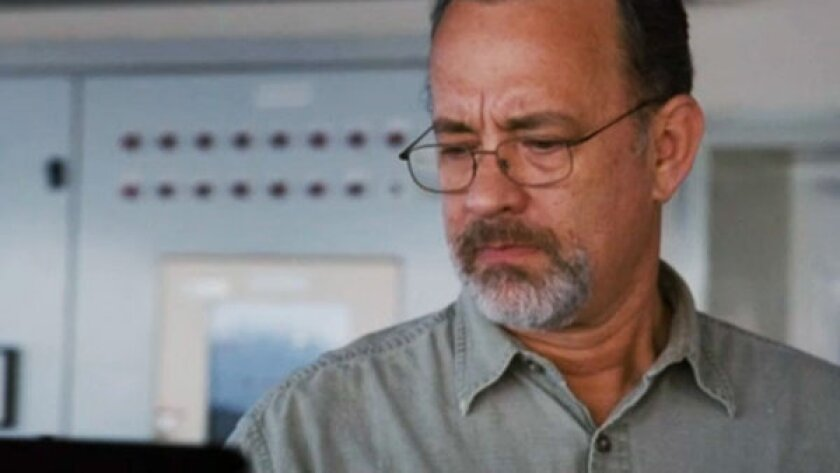 """Tom Hanks in Paul Greengrass' """"Captain Phillips,"""" which is among the most commonly pirated movies on the Ukrainian website Extratorrent.com."""