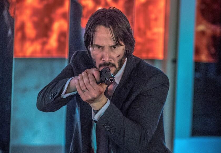 """El popular actor Keanu Reeves en una escena de """"John Wick: Chapter 2"""", que se estrena hoy en salas de todos los Estados Unidos."""