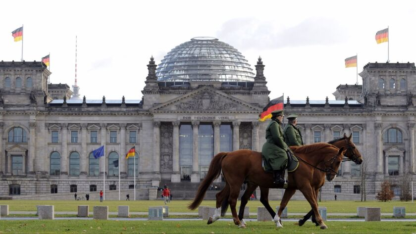 GERMANY-POLICE-PARLIAMENT