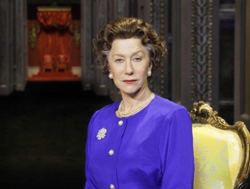 """Helen Mirren as Queen Elizabeth II in """"The Audience."""""""