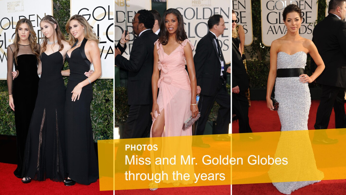 Miss and Mr. Golden Globe through the years