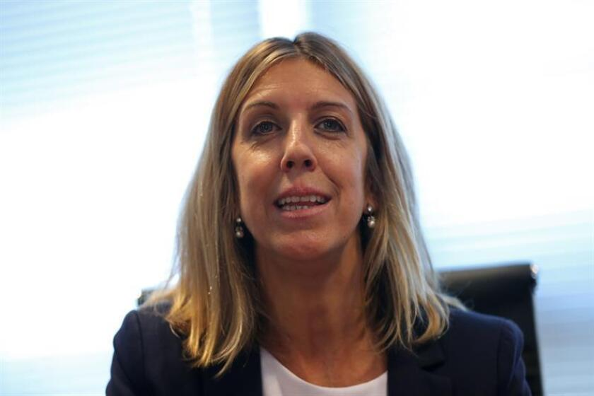 The national specialist of the UNESCO Education Program in Uruguay, Zilmira May, is seen here in Montevideo on Nov. 6, 2018, where she tells EFE that science must adopt a language that people find more normal and understandable to avoid a loss of enthusiasm by future students. EFE-EPA/Aitor Pereira