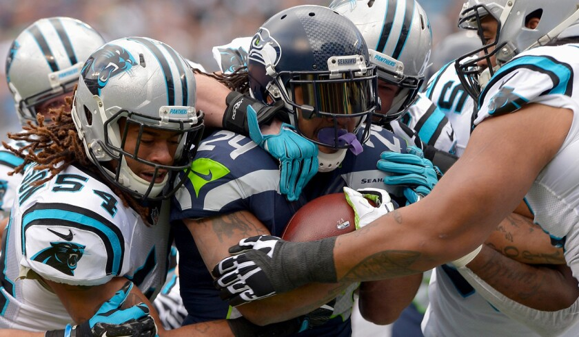Marshawn Lynch's future with the Seattle Seahawks a big question