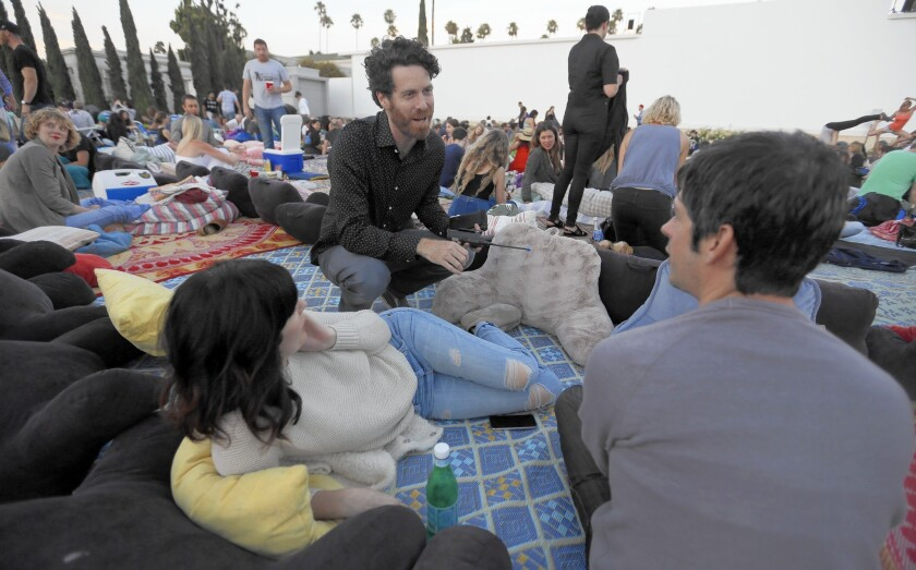 Cinespia's John Wyatt reels 'em in with screenings at Hollywood Forever