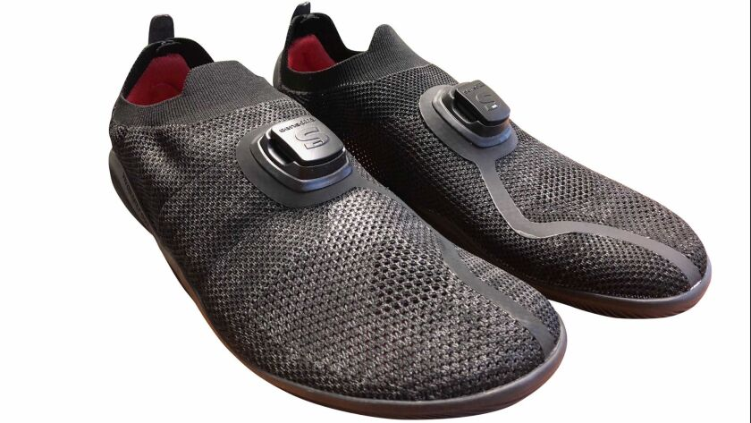A coach in your running shoes Sensoria, an American maker of running shoe sensors, and British minim