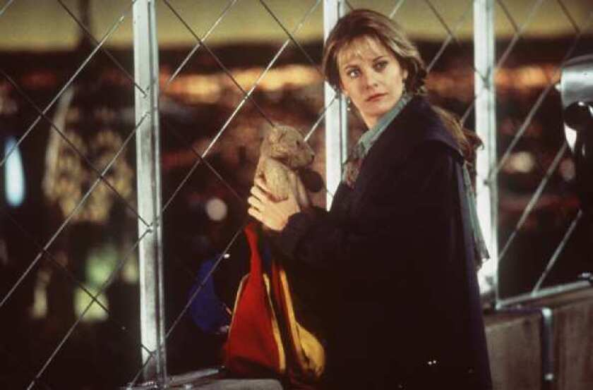 """Meg Ryan in a scene from the movie """"Sleepless in Seattle."""""""
