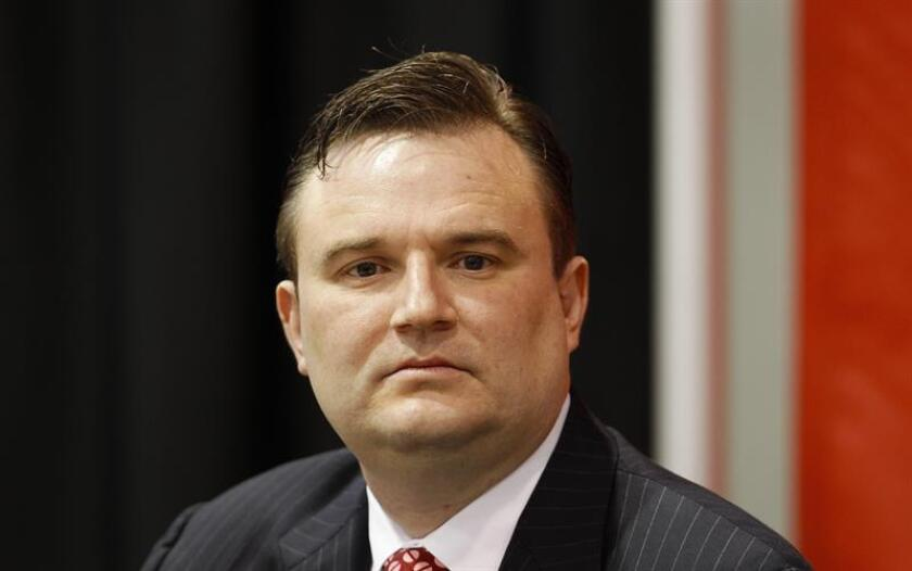 Daryl Morey, mánager de los Rockets de Houston. EFE/Archivo