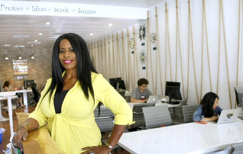 Ingrid V. Rushing, founder and CEO of My Other Office.