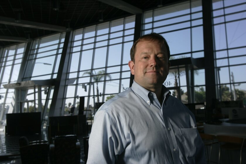 Mike Lewis owns Pearson Fuels in San Diego's City Heights.