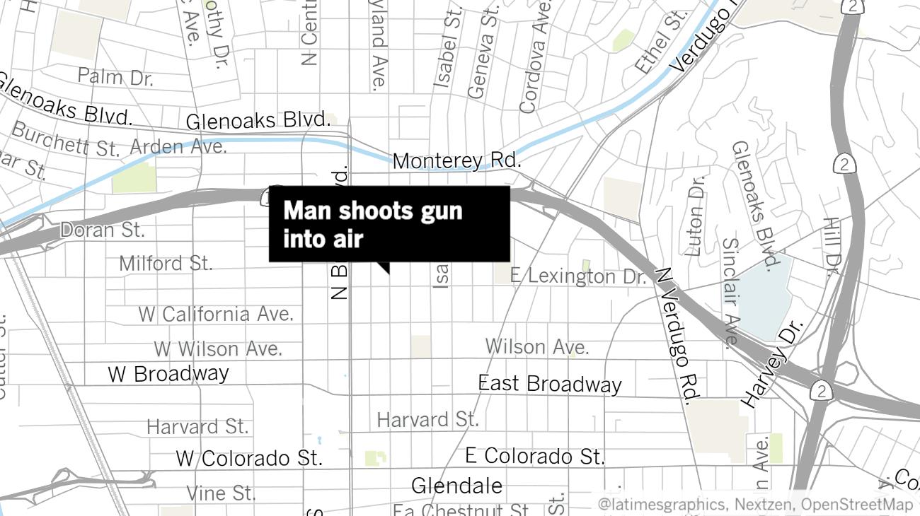 flipboard  sylmar man shot gun into the air in glendale