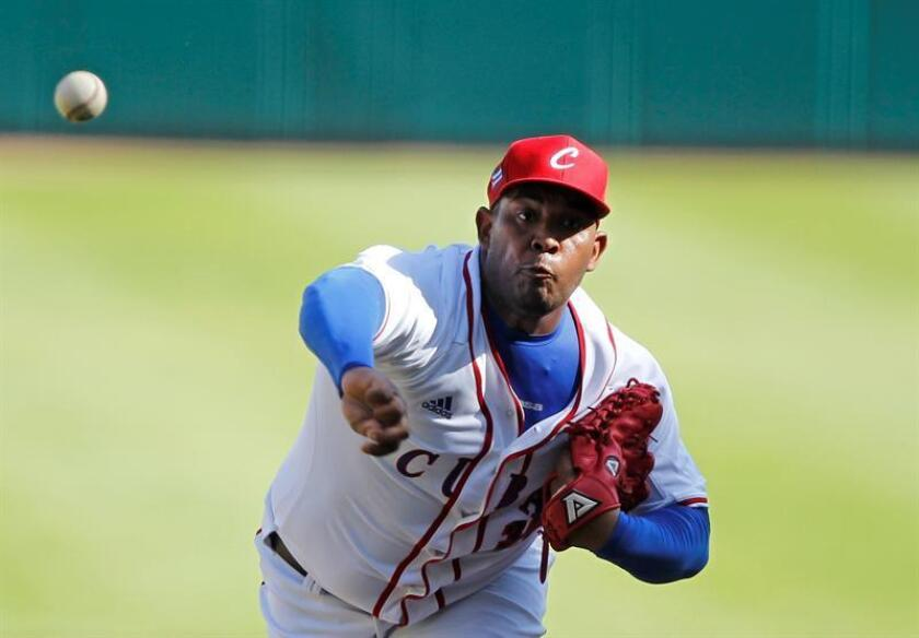 El lanzador Vladimir García, de los Alazanes de Granma de Cuba, aseguró hoy que sueña con que su equipo llegue a la final de la Serie del Caribe de béisbol el próximo 7 de febrero y a él le toque ser el lanzador. EFE