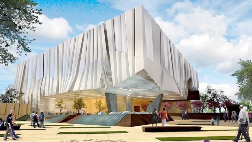 Concept art for Armenian American Museum