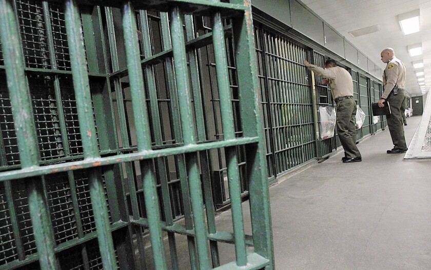 Sheriff's Department has reduced the number of inmates in its jails by over 600.