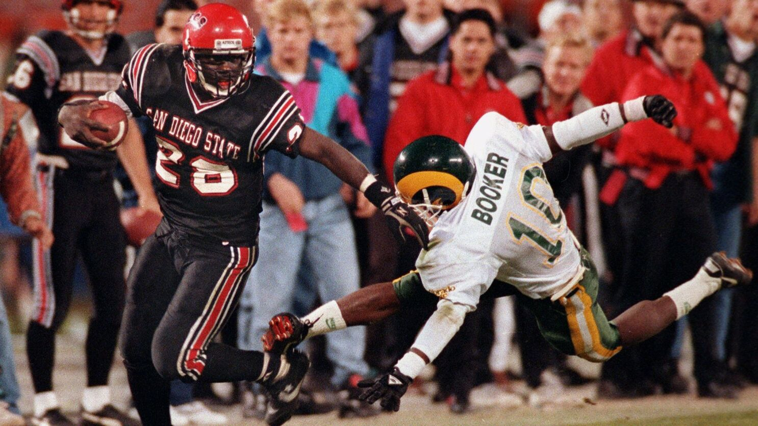 Marshall Faulk To Be Inducted Tuesday Among 2017 Class Of College Football Hall Of Fame The San Diego Union Tribune