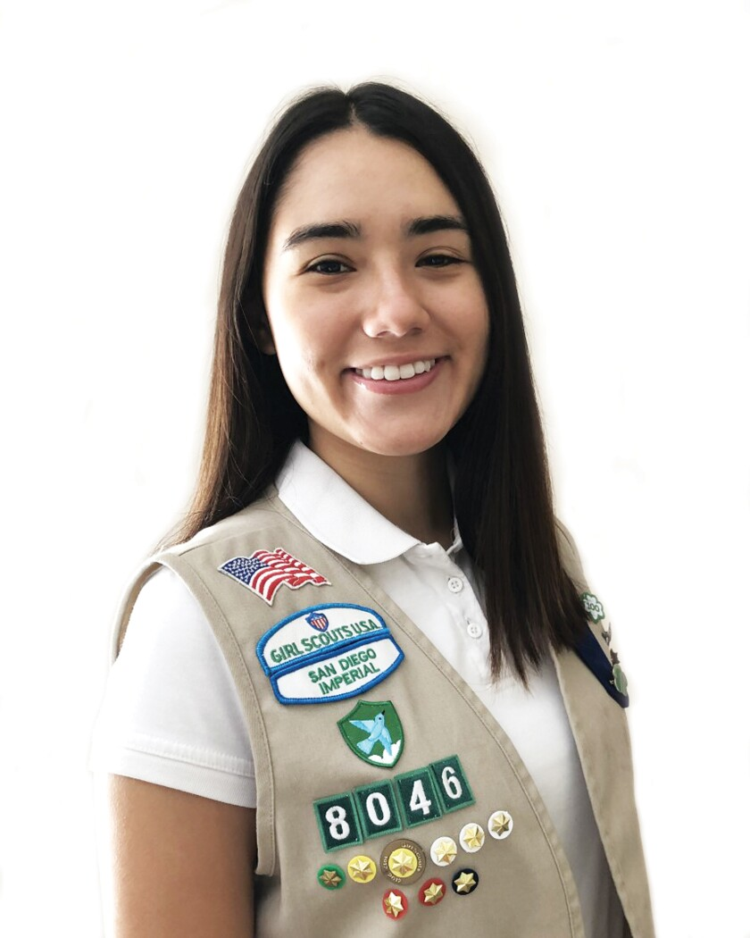 Gold Award Girl Scout Veronica Edwards
