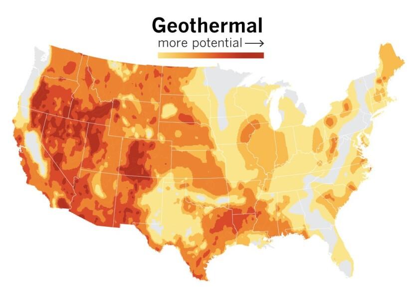 Geothermal energy potential