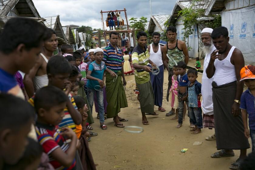 Rohingya Muslims at Cox's Bazar, Bangladesh