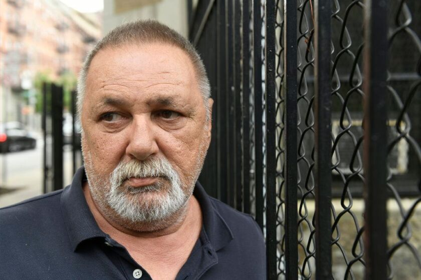 Dominic Lemmo, 69, told of how he was molested as a 12-year-old boy at Our Saviour Catholic Church in the Bronx.
