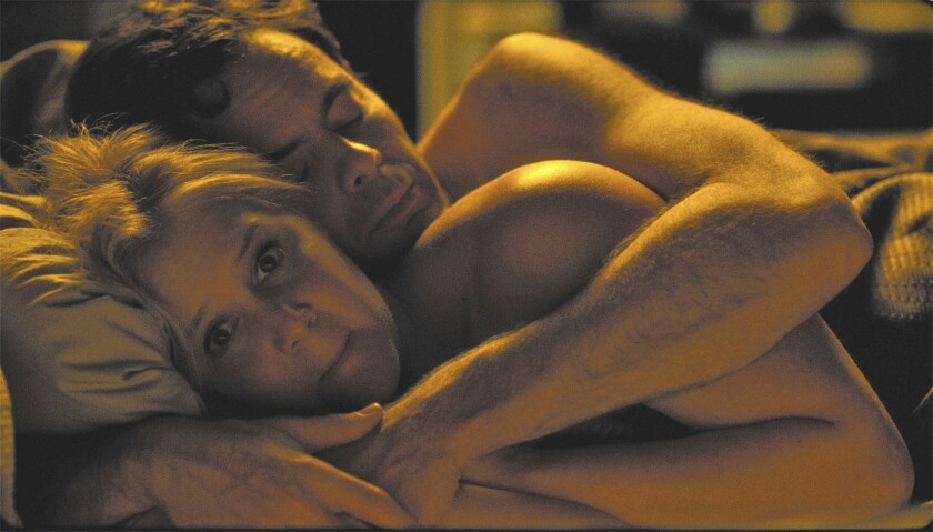 """Amy Schumer and Bill Hader in the movie """"Trainwreck."""""""