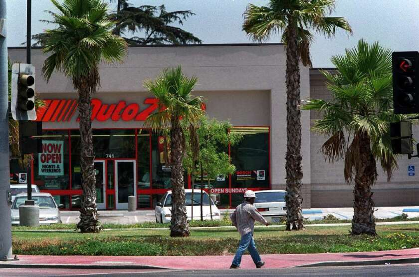 A San Diego jury said retailer AutoZone should pay $185 million to a manager who was demoted after she became pregnant.