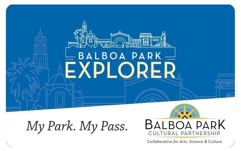 The Balboa Park Explorer pass.