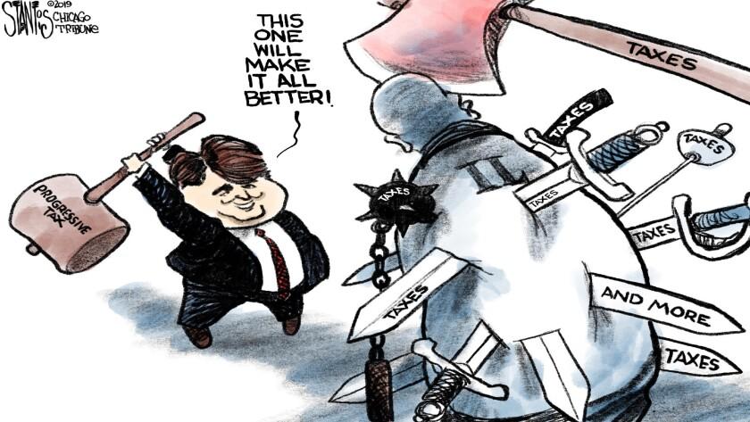 Pritzker's progressive tax