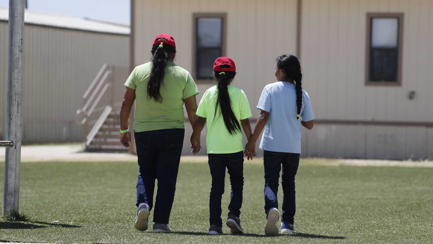 ICE detention centers preparing for longer average stays by migrant families