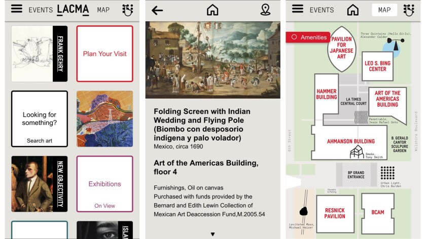 Los Angeles County Museum of Art mobile app