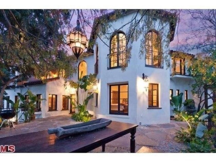 Paul Wesley, Torrey DeVitto house in Hollywood Hills