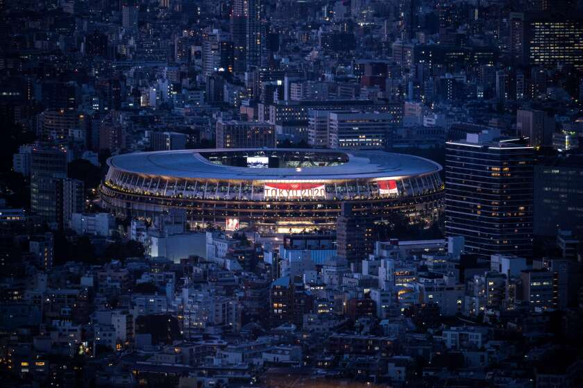 The National Stadium, the main venue for the Tokyo 2020 Olympic and Paralympic Games, will host opening ceremony Friday.