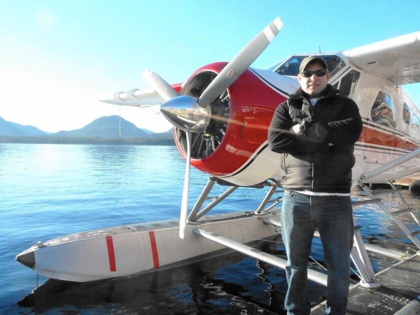 Randy Sullivan bought a De Havilland Beaver three years ago and now ferries tourists over southeastern Alaska.