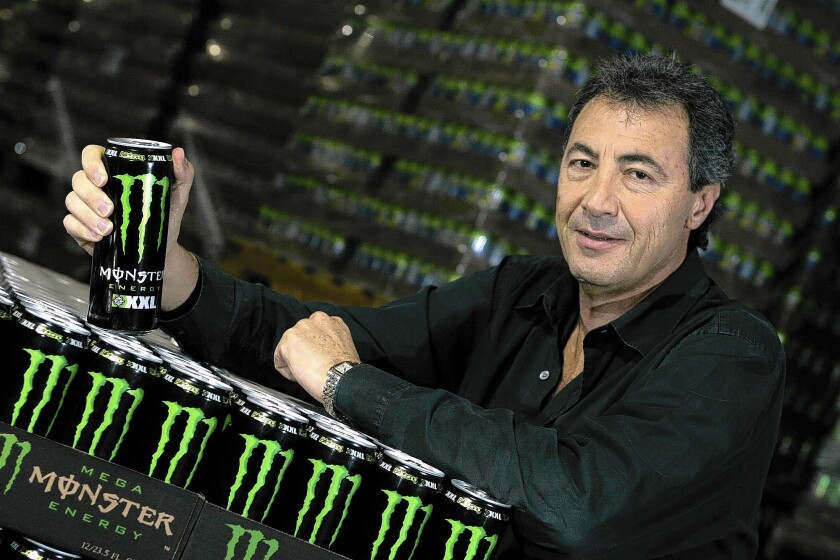 Energy drinks fuel Monster sales