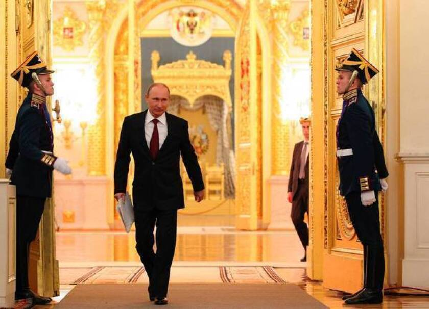 Russia President Vladimir Putin says he'll fight corruption
