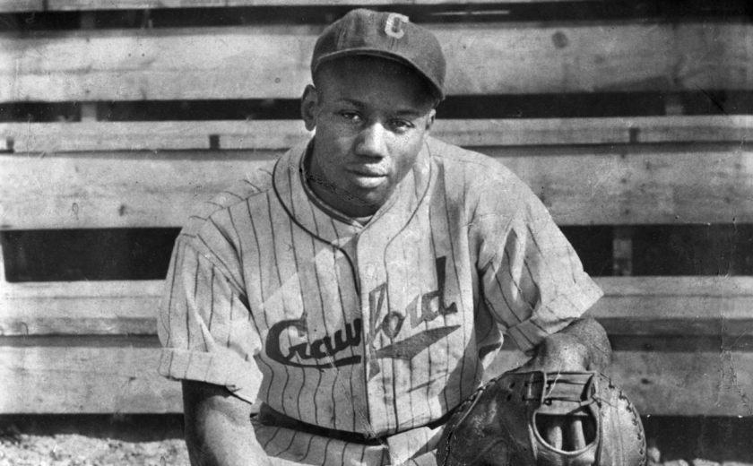 Negro League great Josh Gibson during his playing days.