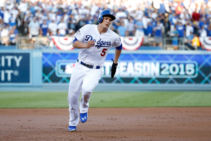 Corey Seager is the Dodgers' shortstop of the future.