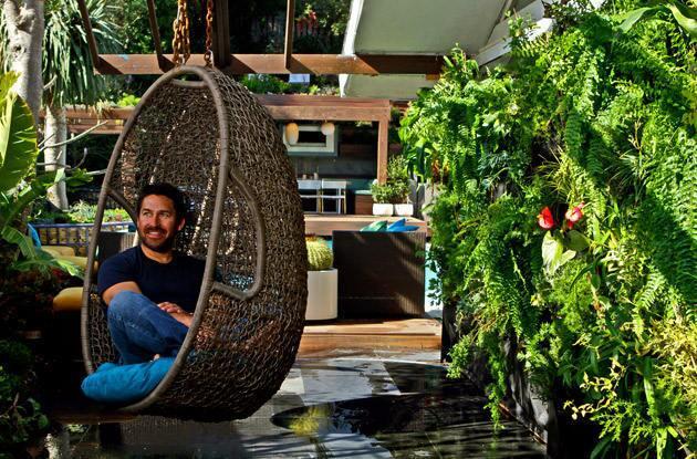 HGTV star's own L.A. backyard retreat