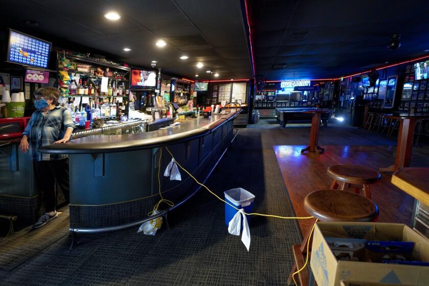 Don's Cocktail Lounge on Wednesday, Nov. 18, 2020 in El Cajon, CA.