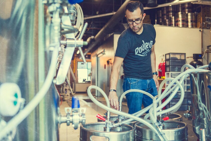 Rawley Macias of Rouleur Brewing Company