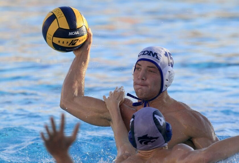 Boys' Water Polo: CdM earns share of title