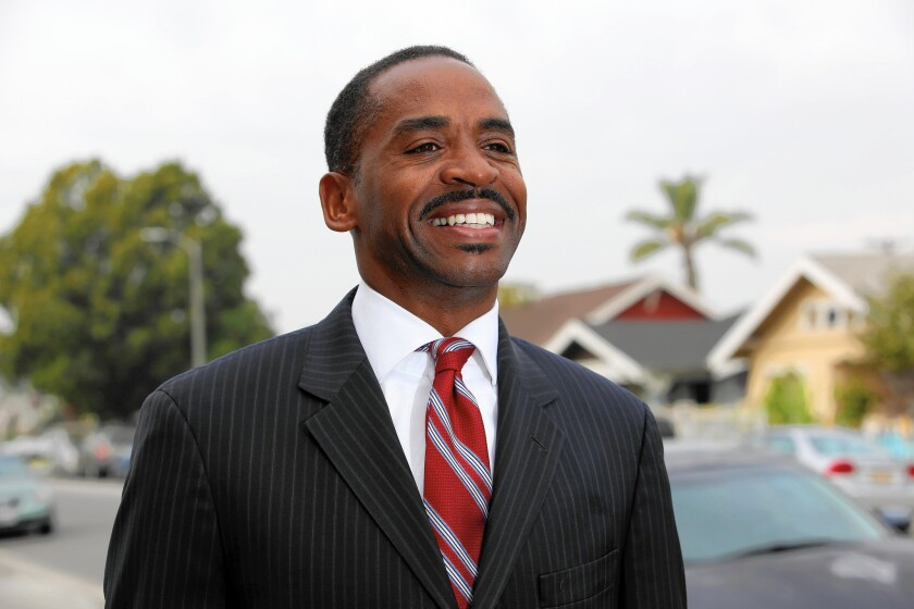 "Robert L. Cole Jr., a former candidate for Los Angeles City Council District 8, was fined $91,548 by the Ethics Commission after his campaign sought matching funds from the city for bogus donations. He blamed an ""overzealous"" volunteer."