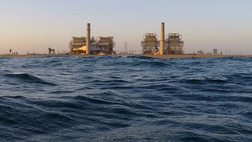 Poseidon Water wants to build a large seawater desalination plant on the site of the AES Huntington Beach Generating Station and use the power plant's ocean intake pipe to draw 106 million gallons a day from the sea.