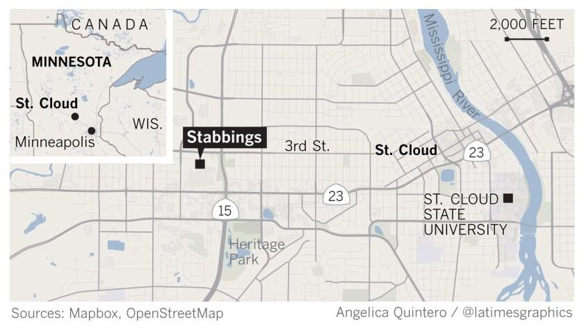 Stabbings in Minnesota