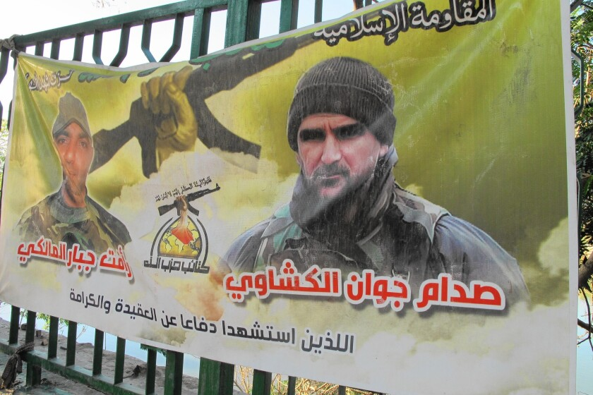 Slain Iraqi Shiite Muslim militia members