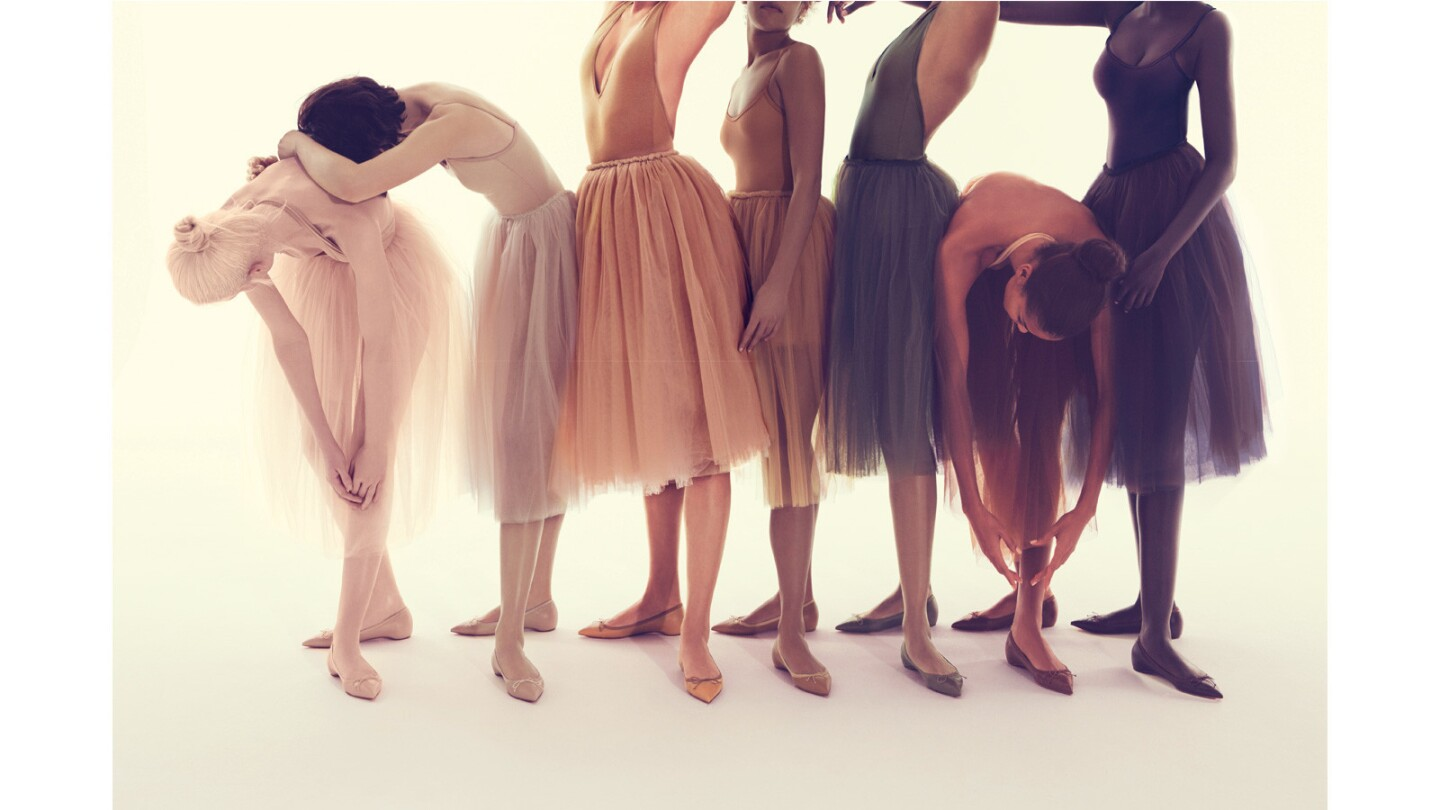 The Christian Louboutin Nude Collection comes in colors that range from pale to deep ($575 and up, us.christianlouboutin.com).