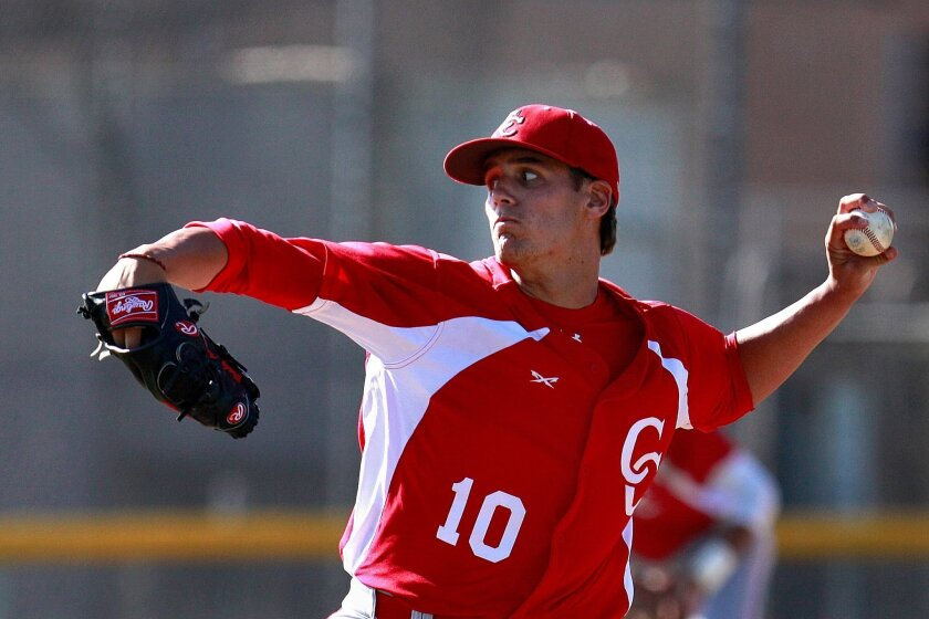 Former Cathedral Catholic High pitcher Brady Aiken was selected by Cleveland with the 17th overall pick in this year's draft.